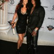 Foto Stock: Slash and wife PerlFerrar