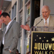 Stock Photo: Jon Cryer, Carl Reiner at Jon Cryer's induction into Hollywood Walk of