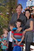 Kevin Sorbo and family at the Yogi Bear Los Angeles Premiere, Village Theater, Westwood, CA. 12-11-10 — Stock Photo