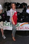 Haylie Duff at the Skid Row Block Party at the Los Angeles Mission, Los An — Stock Photo