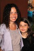 Tatiana von Furstenberg and daughter Antonio — Stock Photo