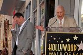 Jon Cryer, Carl Reiner at Jon Cryer's induction into the Hollywood Walk of — Stock Photo
