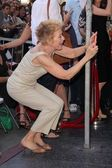 Holland Taylor at Jon Cryer's induction into the Hollywood Walk of Fame, H — Stock Photo