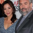Royalty-Free Stock Photo: Michelle Yeoh, Luc Besson