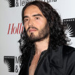Постер, плакат: Russell Brand at Reel Stories Real Lives Milk Studios Hollywood