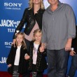 "Stock Photo: Allen Covert and family at ""Jack and Jill"" World Premiere, Village Theater, Westwood"