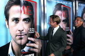 Ryan Gosling and George Clooney — Stock Photo