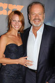 Kelsey Grammer, Kayte Walsh at the Starz Series Boss Season Premiere, Arclight Cinema, Hollywood, CA 10-06-11 — Stock Photo