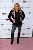 Adrienne Maloof at Hard Rock Cafes PINKTOBER Fashion Show, Hard Rock Cafe, Hollywood, CA 10-27-11 — Stock Photo