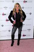 Adrienne Maloof at Hard Rock Cafes PINKTOBER Fashion Show, Hard Rock Cafe, Hollywood, CA 10-27-11 — Stock Photo