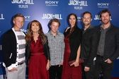 "Jane Seymour and family at the ""Jack and Jill"" World Premiere, Village Theater, Westwood — Stockfoto"