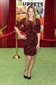 Katie LeClerc at The Muppets World Premiere, El Capitan Theater, Hollywood, CA 11-12-11 — Stock Photo