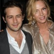 Постер, плакат: Michael Angarano and Uma Thurman at the Ceremony Los Angeles Premiere Arclight Hollywood