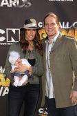 AJ Hawk at Cartoon Networks first ever Hall Of Game Awards, Barker Hanger, Santa Monica, CA. 02-21-11 — Stock Photo