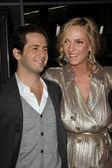"Michael Angarano and Uma Thurman at the ""Ceremony"" Los Angeles Premiere, Arclight, Hollywood — Stock Photo"