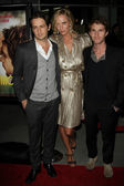 "Michael Angarano, Uma Thurman, Max Winkler at the ""Ceremony"" Los Angeles Premiere, Arclight, Hollywood — Stockfoto"