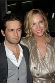 "Michael Angarano and Uma Thurman at the ""Ceremony"" Los Angeles Premiere, A — Stockfoto"