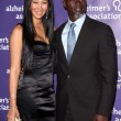 "Stock Photo: KimorLee and husband Djimon Hounsou at 19th Annual ""Night At Sardi's"" Fundraiser and Awards Dinner Benefiting Alzheimer's Association, Beverly Hilton Hotel, Beverly Hills, CA. 03-16-11"