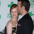 Kimberly Brook and James Van Der Beek  at Global Green USAs 8th Annual Pre-Oscar Party, Avalon, Hollywood, CA. 02-23-11 — Stock Photo