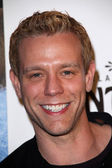 Adam Pascal at the AVENUE Q Los Angeles Return, Pantages, Hollywood, CA. 03-01-11 — Stock Photo