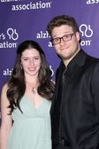 Lauren Miller, Seth Rogen — Stock Photo