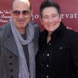Постер, плакат: John Varvatos and k d lang