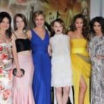 Carla Gugino, Jena Malone, Abbie Cornish, Emily Browning, Jamie Chung, Vanessa Hudgens — Stock Photo