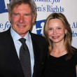Stock Photo: Harrison Ford and CalistFlockhart at 18th Annual Alliance for Children's Rights Dinner Gala, Beverly Hilton Hotel, Beverly Hills, CA. 03-10-11