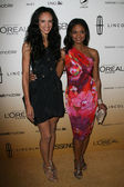 Kimberly Elise and Her Daughter at the 4th Annual ESSENCE Black Women In Hollywood Luncheon, Beverly Hills Hotel, Beverly Hills, CA. 02-24-11 — Foto de Stock