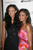 Kimberly Elise and Her Daughter at the 4th Annual ESSENCE Black Women In Hollywood Luncheon, Beverly Hills Hotel, Beverly Hills, CA. 02-24-11 — Stock Photo