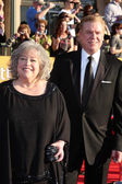 Kathy Bates, Christopher McDonald at the 18th Annual Screen Actors Guild Awards Arrivals, Shrine Auditorium, Los Angeles, CA 01-29-12 — Stock Photo