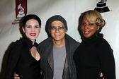 Skylar Grey, Jimmy Iovine, Mary J. Blige — Stock Photo