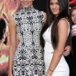"Kendall Jenner, Kylie Jenner at ""Hunger Games"" Los Angeles Premiere, NokiTheater, Los Angeles, C03-12-12 — Stock Photo #14355881"