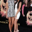 Kendall Jenner, Kylie Jennerat The Hunger Games Los Angeles Premiere, Nokia Theater, Los Angeles, CA 03-12-12 — Stock Photo