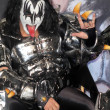 Постер, плакат: Gene Simmons at the KISS & Motley Crue Press Conference Roosevelt Hotel Hollywood CA 03 20 12