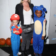Jaime Pressly  at the EBMRF And PlayStation Epic Halloween Bash, Private Location, Los Angeles, CA 10-27-12 — ストック写真