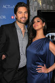 "Eric Winter, Roselyn Sanchez at the ""Act Of Valor"" Los Angeles Premiere, Arclight, Hollywood, CA 02-13-12 — Stock Photo"