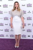 Elizabeth Olsen at the 2012 Film Independent Spirit Awards, Santa Monica, CA 02-25-12 — Stock Photo