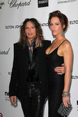 Steven Tyler, Erin Brady — Stock Photo