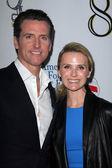 "Gavin Newsom, Jennifer Siebel Newsom at the West Coast Premiere Reading of ""8"" Shows, Wilshire Ebell Theater, Los Angeles, CA 03-03-12 — Stock Photo"