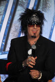 Nikki Sixx at the KISS & Motley Crue Press Conference, Roosevelt Hotel, Hollywood, CA 03-20-12 — Stock Photo