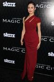 "Olga Kurylenko at the ""Magic City"" Los Angeles Premiere, Directors Guild of America, Los Angeles, CA 03-20-12 — Stock Photo"
