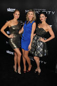 "Ellen Hollman, Viva Bianca and Katrina Law at the ""Magic City"" Los Angeles Premiere, Directors Guild of America, Los Angeles, CA 03-20-12 — Stock Photo"