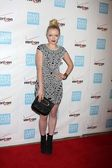 Francesca Fisher-Eastwood at the 41st Annual Peace Over Violence Humanitarian Awards, Beverly Hills Hotel, Beverly Hills, CA 10-26-12 — Stock Photo