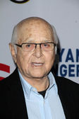 """Norman Lear at the West Coast Premiere Reading of """"8"""" Shows, Wilshire Ebell Theater, Los Angeles, CA 03-03-12 — Stock Photo"""