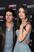 Tom Cruise and Katie Holmes — Stock Photo