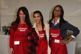 Kim Kardashian, Jennifer Love Hewitt, Zoe Saldana — Stockfoto