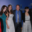 Aida Takla-OReilly, Rainey Qualley, Sofia Vergara, Woody Harrelson, Rashida Jones, Gerard Butler  at the 69th Annual Golden Globe Awards Nominations, Beverly Hilton Hotel, Beverly Hills, CA 12-15-11 - Stok fotoğraf