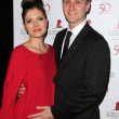 Постер, плакат: Aaron Staton at the St Jude Childrens Research Hospital 50th Anniversary Gala Beverly Hilton Beverly Hills CA 01 07 12