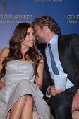 Sofia Vergara and Gerard Butler — Stock Photo